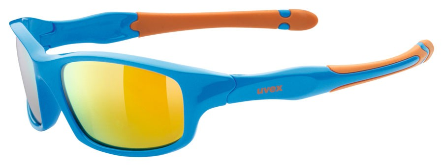 Uvex Sportstyle 507 Kinder-Sportbrille - blue orange KIgtg