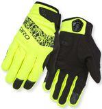 Giro Winter Damen Fahrrad-Handschuhe Candela-highlite yellow-black