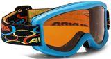 Alpina Kinder Skibrille Carvy 2.0 - cyan
