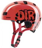 Skaterhelm uvex Kid 3 - dirtbike red