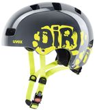 Skaterhelm uvex Kid 3 - dirtbike grey lime