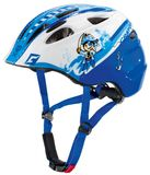 Cratoni Akino Kinder Fahrradhelm-Pirate blue-white glossy