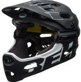 Bell Super 3R MIPS All-Mountain/Downhill-Helm - mat black/white