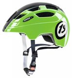 uvex finale junior LED Kinderfahrradhelm - 1926 black green