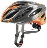 uvex boss race Rennradhelm - grey neon orange