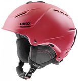 uvex p1us 2.0 Skihelm - red mat
