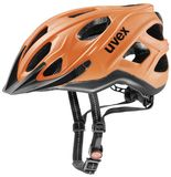 uvex city s Fahrradhelm - neon orange-black mat