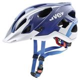 uvex stivo cc Mountainbike Helm - blue/white mat