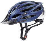 uvex oversize XXL Fahrradhelm - blue white mat
