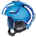 uvex p1us pro Skihelm - chrome blue Limited Edition
