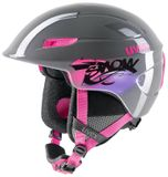 uvex u-kid Kinder-Skihelm - grey pink