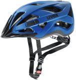 uvex active cc Fahrradhelm - blue mat