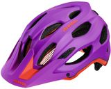 Alpina Carapax Mountainbike Helm - purple neon red