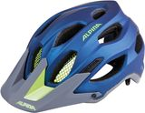 Alpina Carapax Mountainbike Helm - darkblue neon