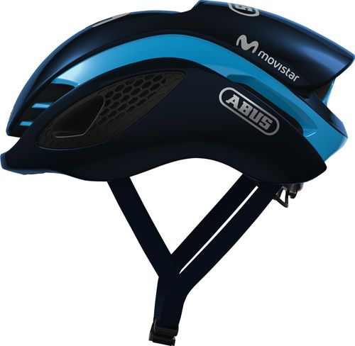 ABUS GameChanger Rennradhelm - Movistar Teamhelmet 2018 shiny