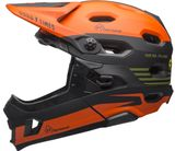Bell Super DH MIPS Downhill-Helm - FastHouse mat green/orange