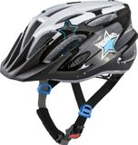 Alpina FB JR. 2.0 FLASH Kinder Fahrradhelm - black white blue