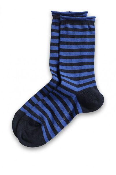 ESPRIT Stripe Socks Damen | marine
