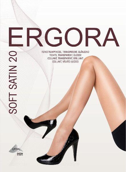 ERGORA Feinstrumpfhose SOFT SATIN 20 glänzend | teint