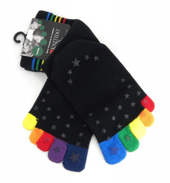KNITIDO kids Rainbow Moods ABS | Happy Toes