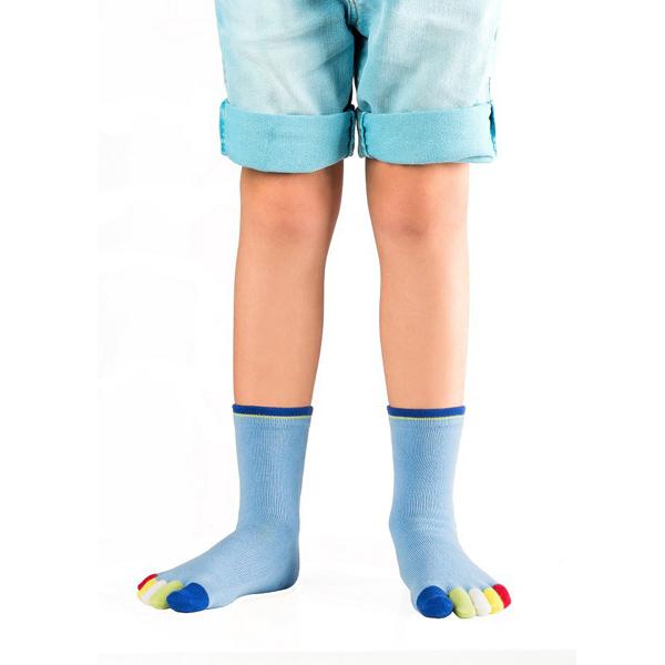 KNITIDO kids Rainbow Moods ABS | Capt'n Blue