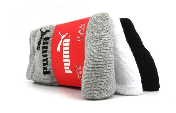 PUMA sport JUNIOR 3er | grey/white/black