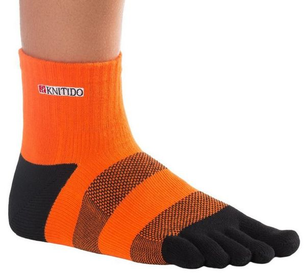 KNITIDO Track & Trail Flash | orange/schwarz