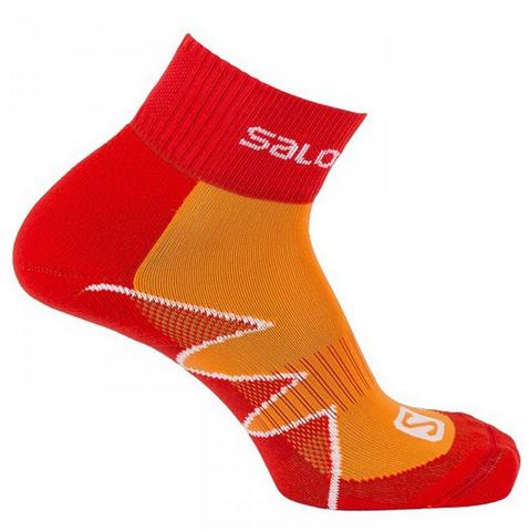 SALOMON Allround Sportsocke Citytrail | infrared - capucine-orange