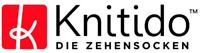 KNITIDO MTS Explorer Zehen-Laufsocke antibakteriell robust anthrazit/grün