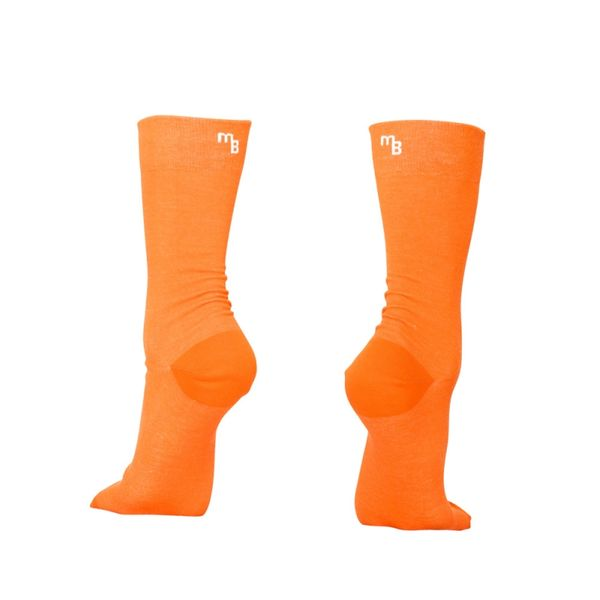 Minga Berlin The Colours Orange Biosocken aus Biobaumwolle Farbe Tangerine