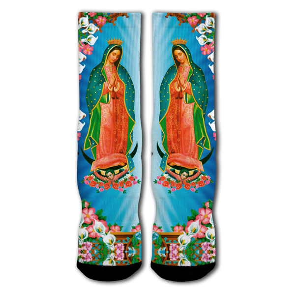 Raw Sox RSX LTD Virgen de Guadelupe Socken