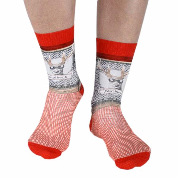 wigglesteps Biosocken Herren Cooler Platzhirsch Socken Bio Baumwolle