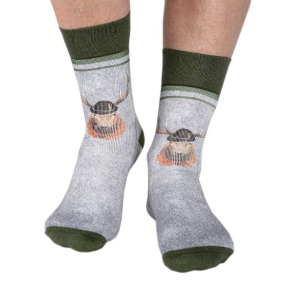 wigglesteps Biosocken Herren Achtender Socken Bio Baumwolle