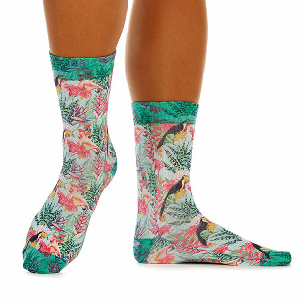 wigglesteps Biosocken Damen Jungle Life Socken Bio Baumwolle