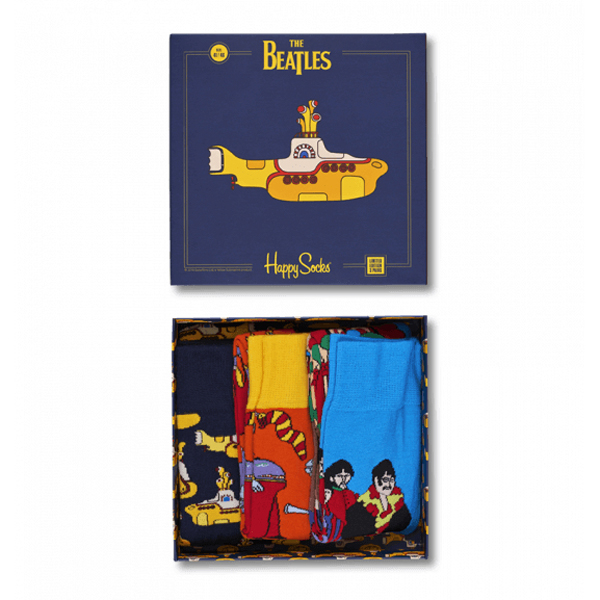 Happy Socks Beatles 3 Paar Socken Geschenkbox Limited Edition