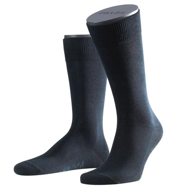 FALKE Family Herren-Socke, Farbe 6370 dark navy