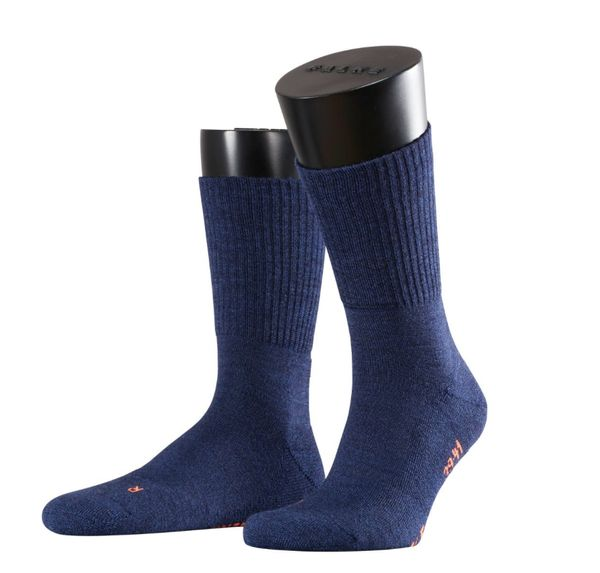 FALKE Walkie Light leichte Outdoorsocken aus Merinowolle jeans