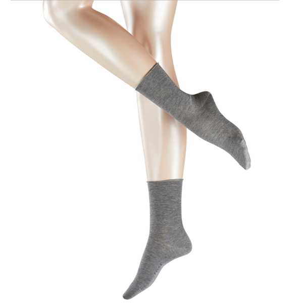 FALKE Active Breeze Damen Socke, Farbe 3399, light-grey mel.