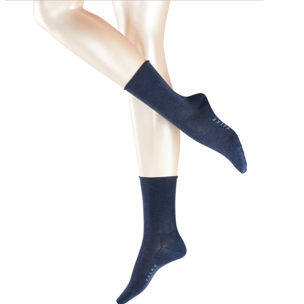 FALKE Active Breeze Damen Socke, Farbe 6499, navy-blue mel.