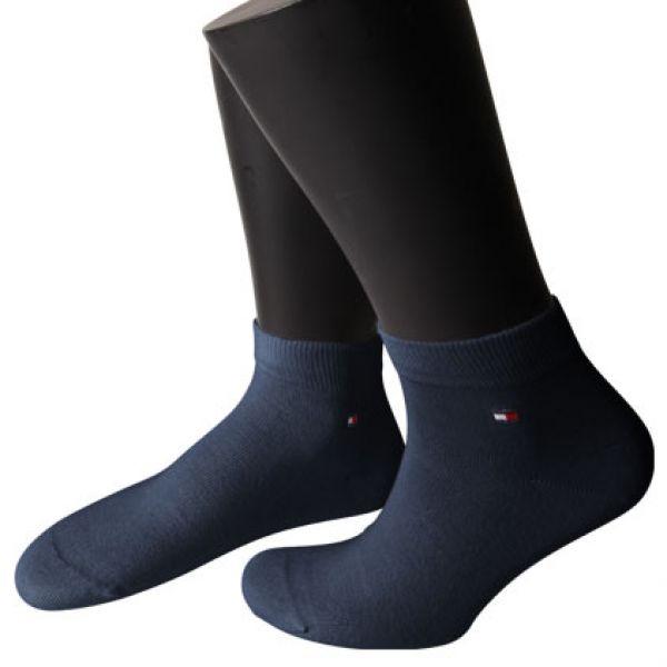 TOMMY HILFIGER Quarter Socke dunkelblau 6 Paar