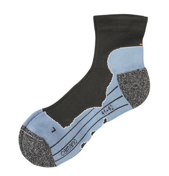 Camano Quarter-Socken Sport Funtion schwarz, 2 Paar