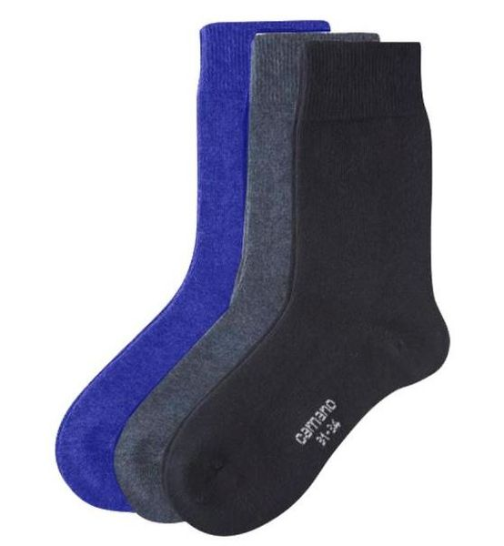 Camano Soft Kindersocken Box, Navy/Jeans/Blue  6 Paar