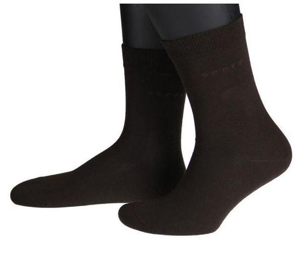 Esprit Damen Socken, braun 4 Paar – Bild 1