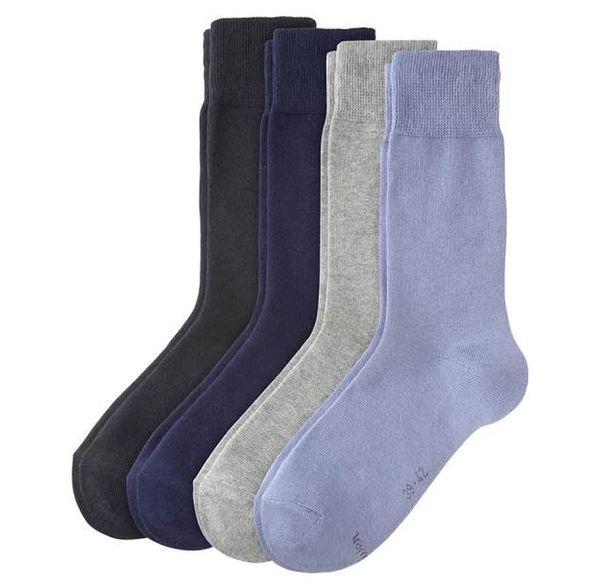 s.Oliver Classic Sneaker Socken, stone 4 Paar