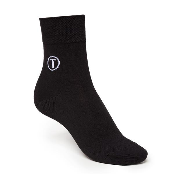 """Thokk Thokk Socken aus Bio Baumwolle Fairtrade """"Black"""" 2 Paar"""