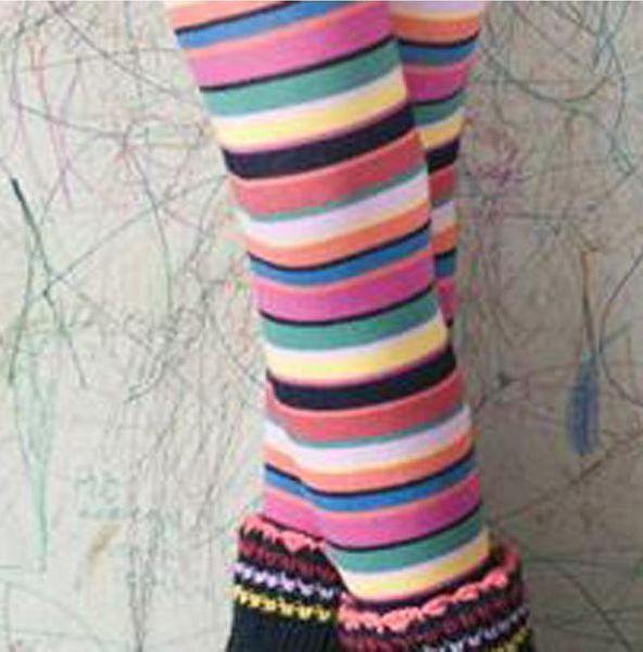 Bonnie Doon Kinderstrumpfhose Crayon Stripes