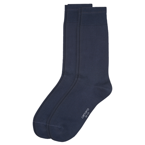 Camano Business Socken mercerisierte Baumwolle 6 Paar navy