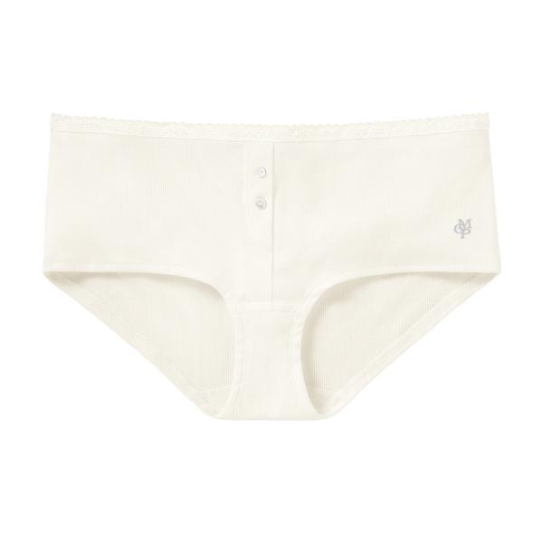 Marc O'Polo Damenpanty 1 Stück naturweiss