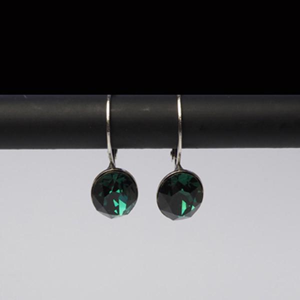 Swarovski Ohrhänger Emerald
