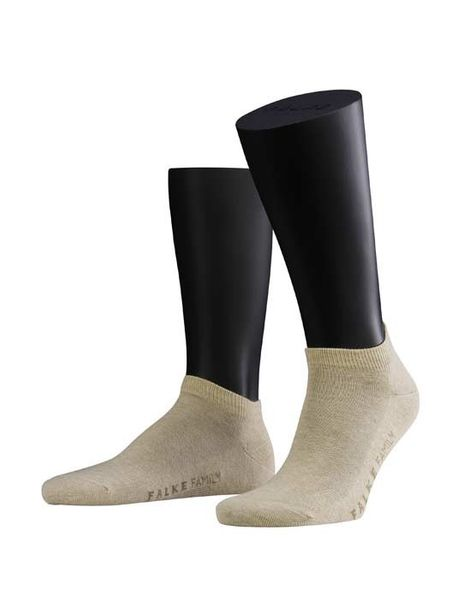FALKE Family SHORT Sneakersocken sand melange
